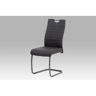 Dining chair/fabric KR801–60 anthrazit/legs anthrazit DCL-417 GREY2