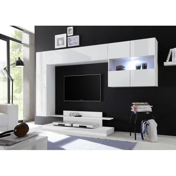 Obývacia stena NICE-02 biela