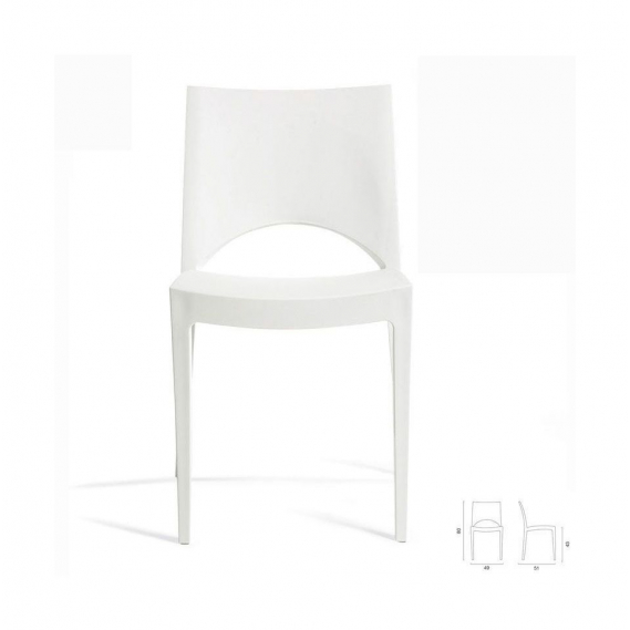 STIMA Plastová stolička PARIS