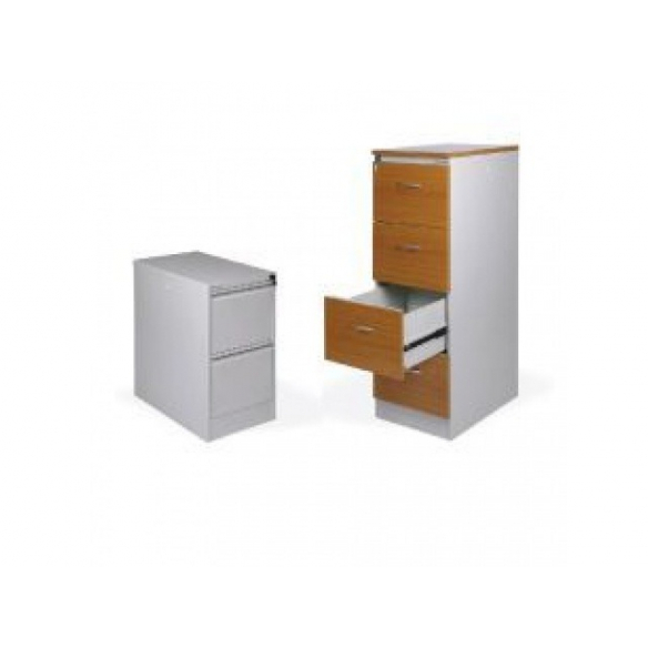 Kartotéky a kovový nábytok