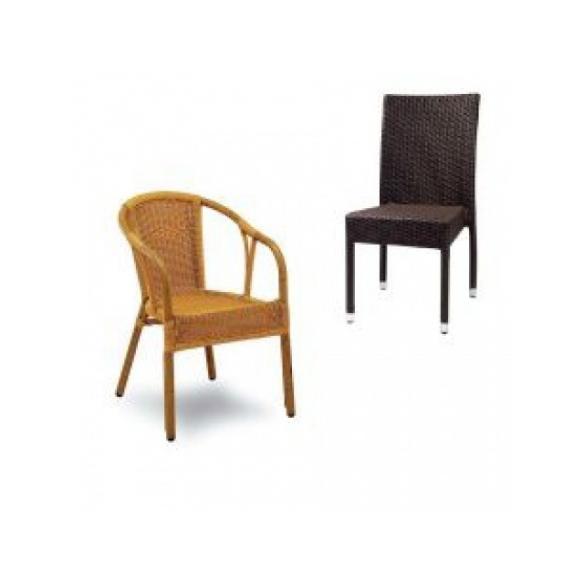 Záhradné stoličky a kreslá